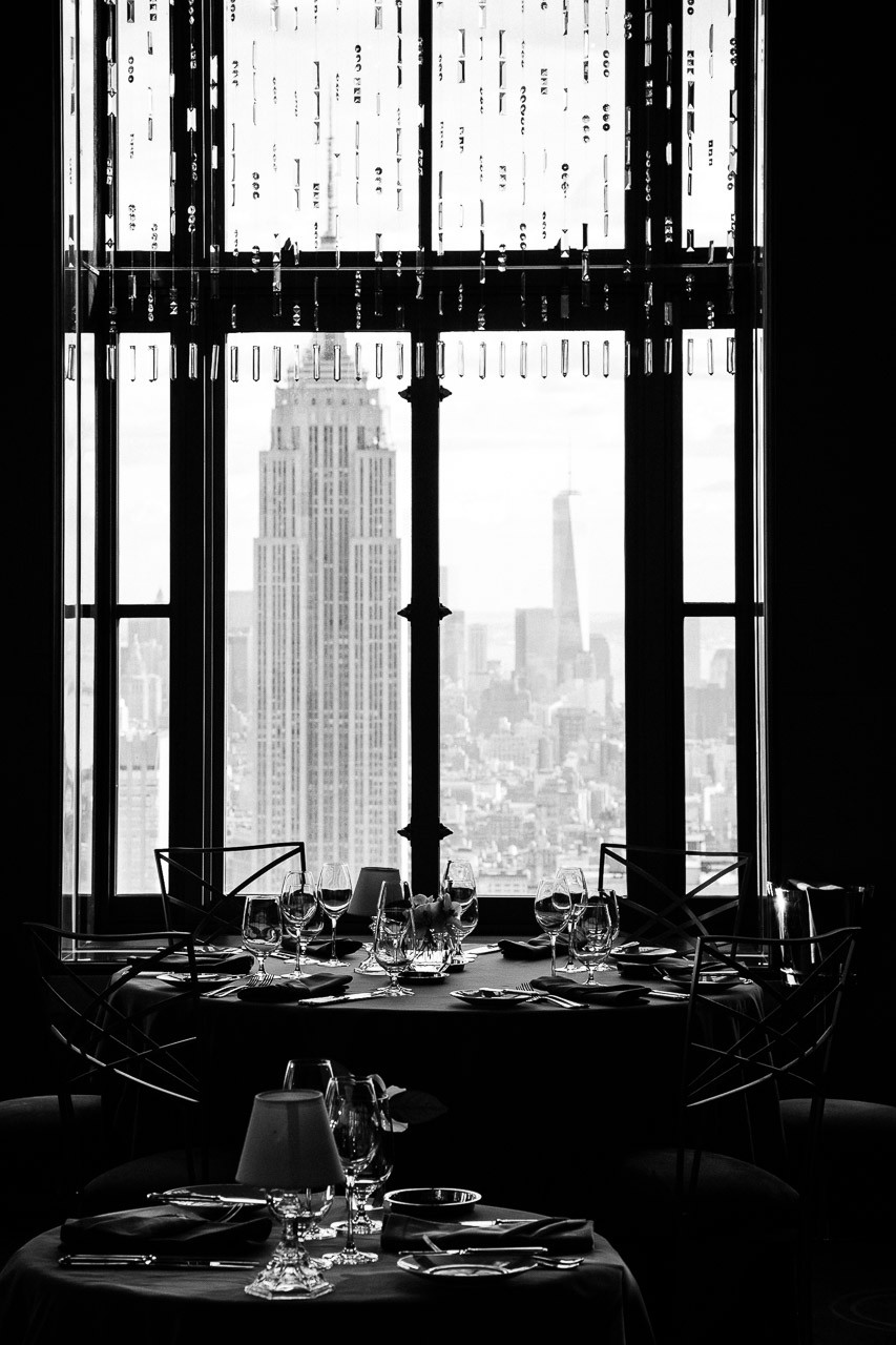 Rainbow Room @ Rockefeller Plaza ; Photo by: Eilon Paz