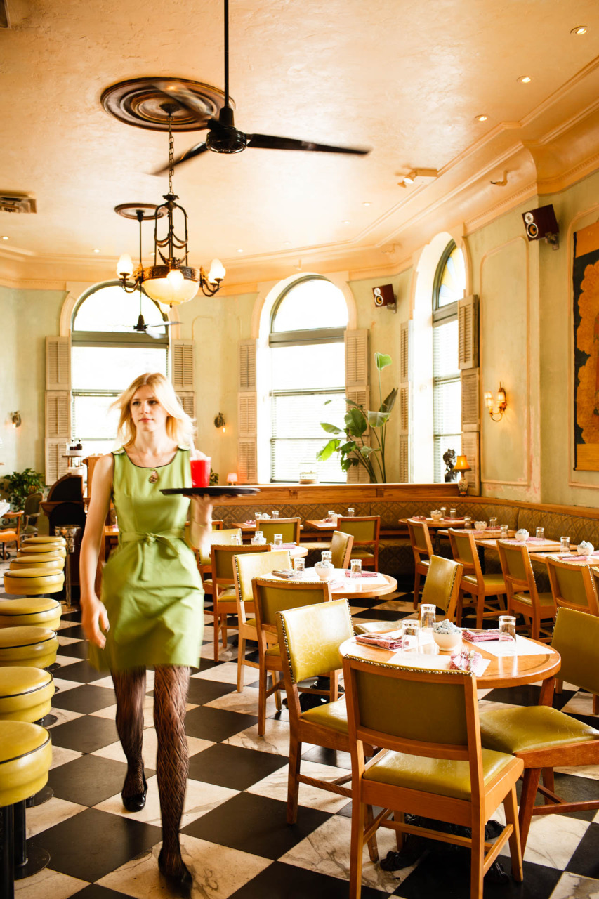 Cafe Gitane inside the Jane Hotel