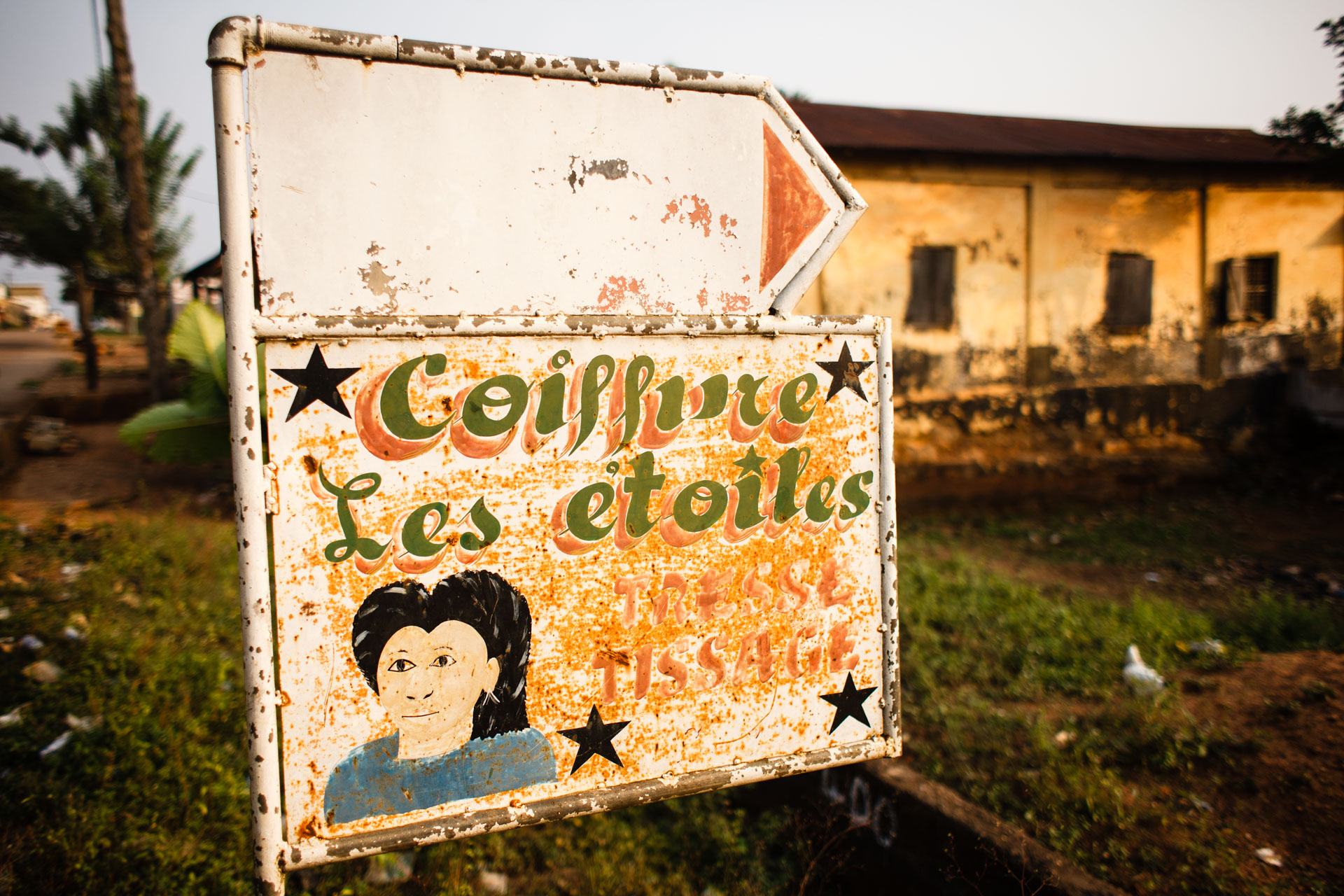 Street Signs of West Africa | Eilon Paz - Food, Travel and Portrait ...