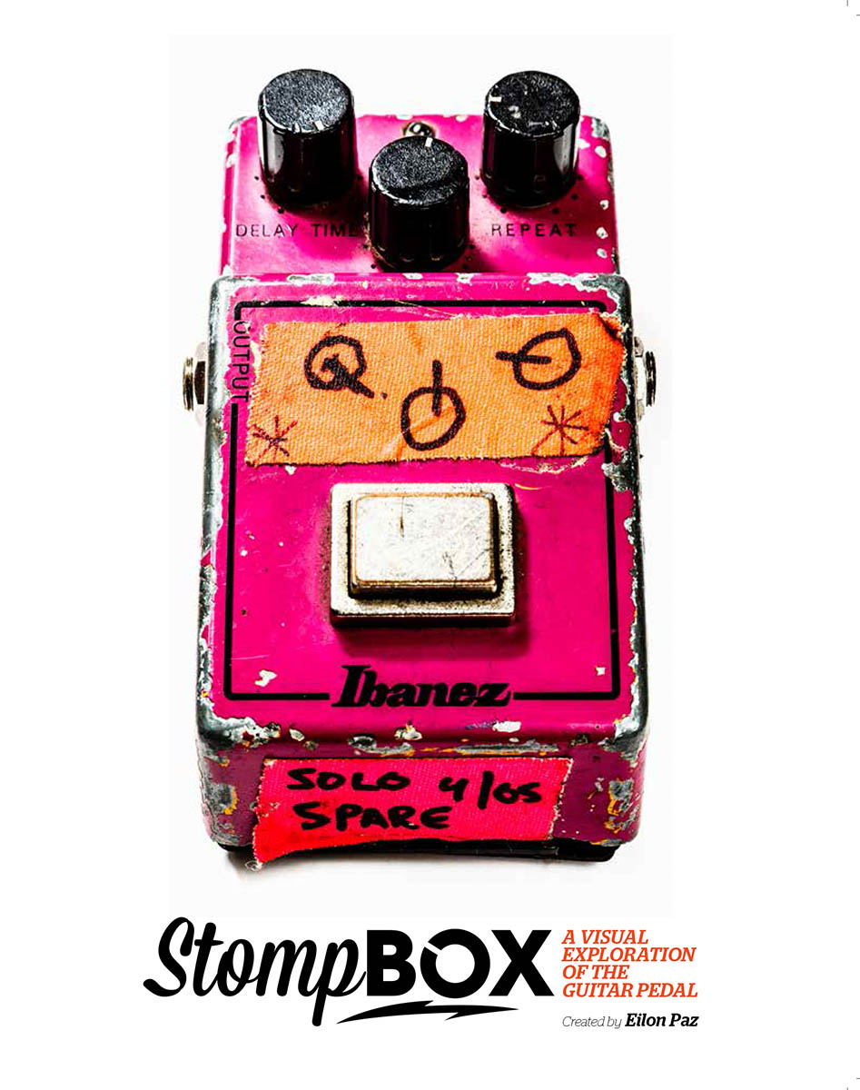 Stompbox: A Visual Exploration of the Guitar Pedal - In progress. To be published June 2018.